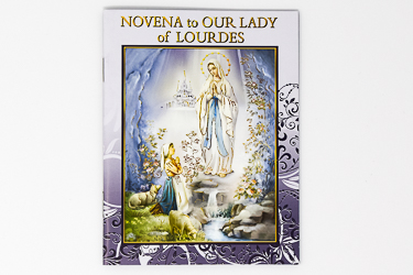 Our Lady of Lourdes Novena Booklet.