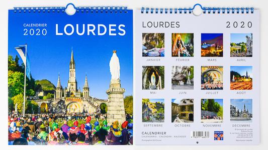 Lourdes Official Calendar 2020.