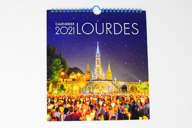 Lourdes Official Calendar 2021.