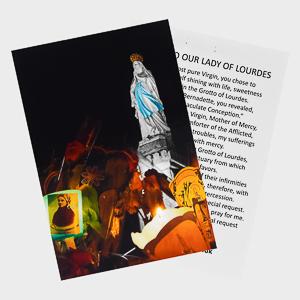 Lourdes Card