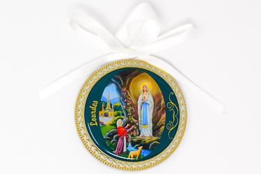 Lourdes Crib Medal.