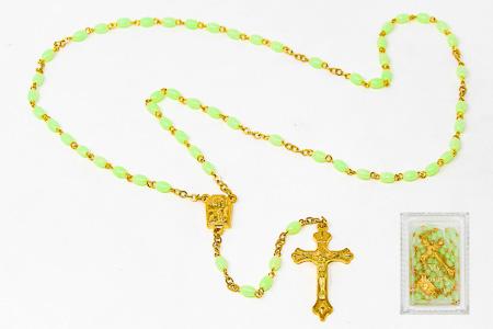 My Lourdes Water Apparition luminous Rosary.