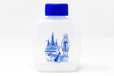 Plastic Lourdes  Water Bottle.