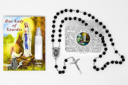 Lourdes Water Vial Gift Set.