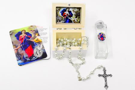 Mary Undoer of Knots Holy Water Gift Set.