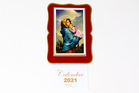 Mary and Child - Calendar 2021