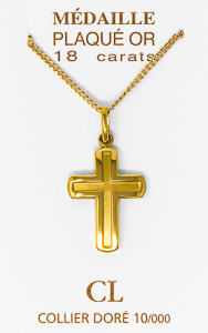 Men's Cross Necklace.