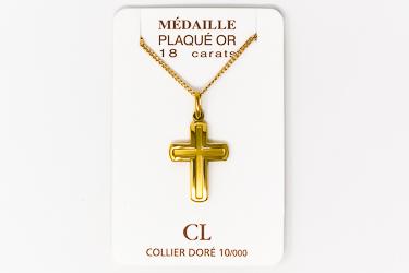 Men's Cross Necklace.