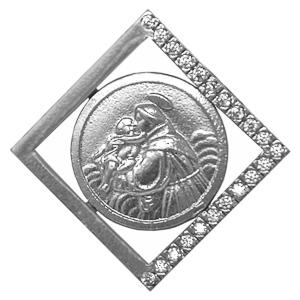 Men's St Anthony Pendant.