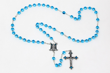 Miraculous Crystal Rosary.