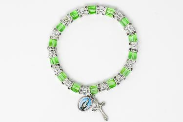 Miraculous Green Crystal Bracelet.
