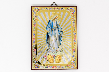 Miraculous Icon Wall Plaque.