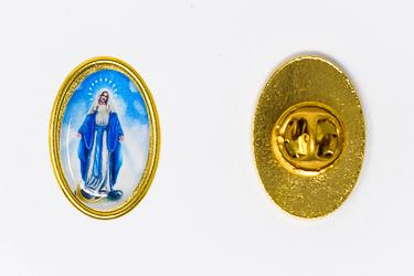Miraculous Medal Pin
