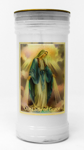 Pillar Candle - Sacred Heart of Jesus.