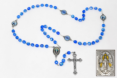 Miraculous Rosary Beads Gift Set