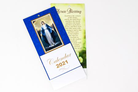 Miraculous Standing Calendar 2021.