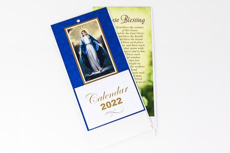 Miraculous Standing Calendar 2022.