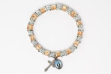 Miraculous Topaz Crystal Bracelet.