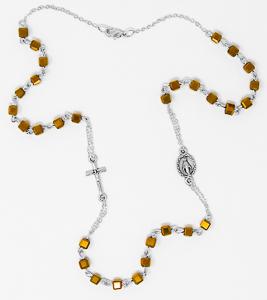 Topaz Rosary Necklace