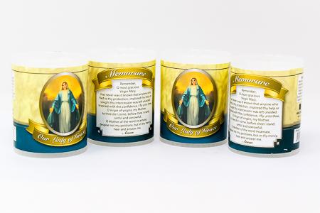 Miraculous Votive Candle.
