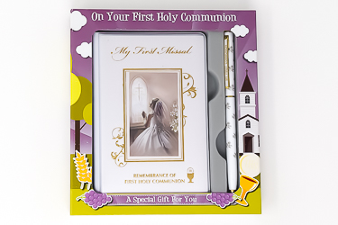 Communion Gift Set for a Girl