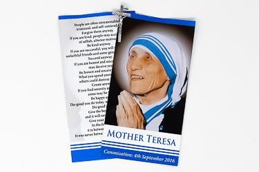 Mother Teresa Memorabilia 2016.