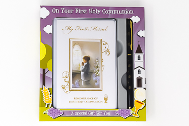 Communion Gift Set for a Boy