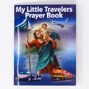 Travellers St. Christopher Prayer Book.