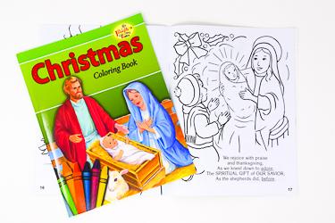 Christmas Colouring Book.