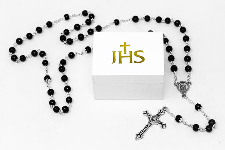Nickel Free Rosary Beads.
