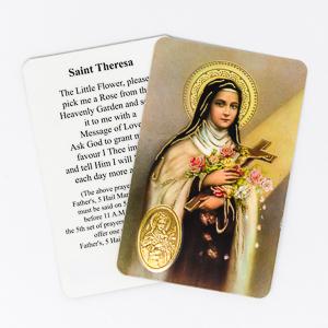 Novena to Saint Theresa.