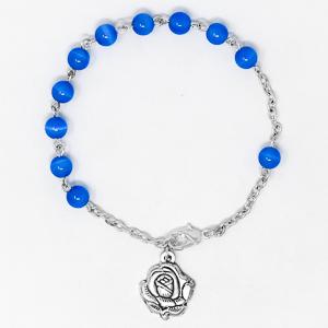 Cat's Eye Lourdes Rosary Bracelet..