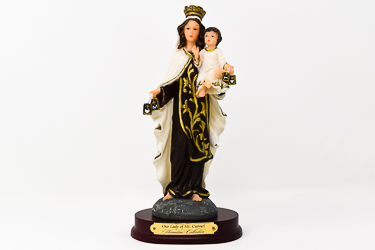 Our Lady Mount Carmel Statue.