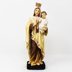 Our Lady Mount Carmel Statue.