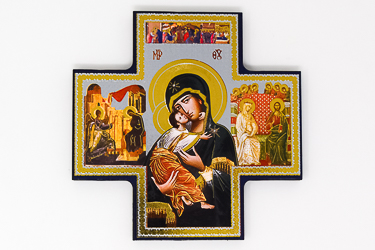 Our Lady Perpetual Help Wall Cross.