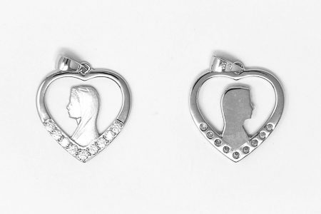 Heart Shaped Pendent.
