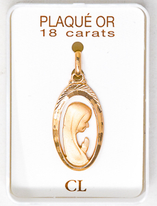 Our Lady of Lourdes Pendant.