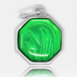 Our Lady of Lourdes Green Medal.