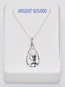 Our Lady of Lourdes Necklace.