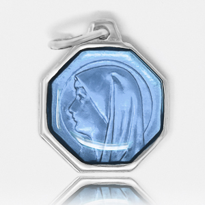 Our Lady of Lourdes Blue Medal.