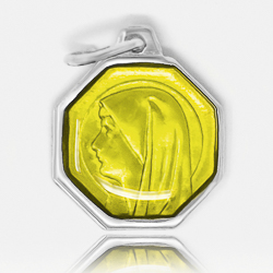 Our Lady of Lourdes Yellow Medal.