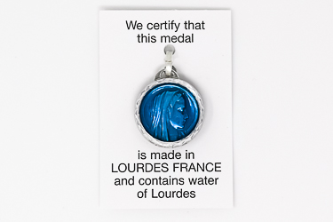 Our Lady of Lourdes Water Pendant.