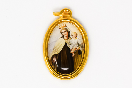 Our Lady of Mount Carmel Medal.