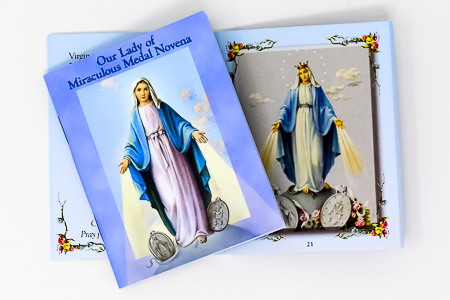 Prayer Book - Our Lady of the Miraculous Medal.