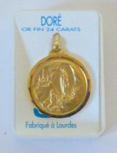 Gold Apparition Medal.