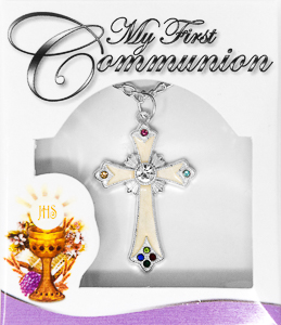 First Communion Necklace.