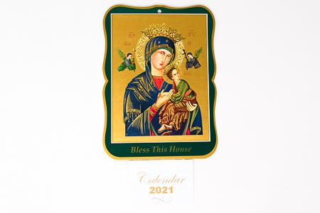 2021 Calendar - Perpetual Help