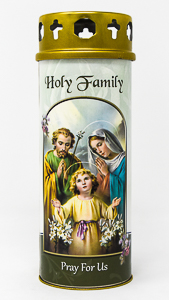 Pillar Candle - Holy Family.