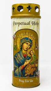 Pillar Candle - Perpetual Help.