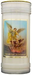 St.Michael the Archangel Candle.